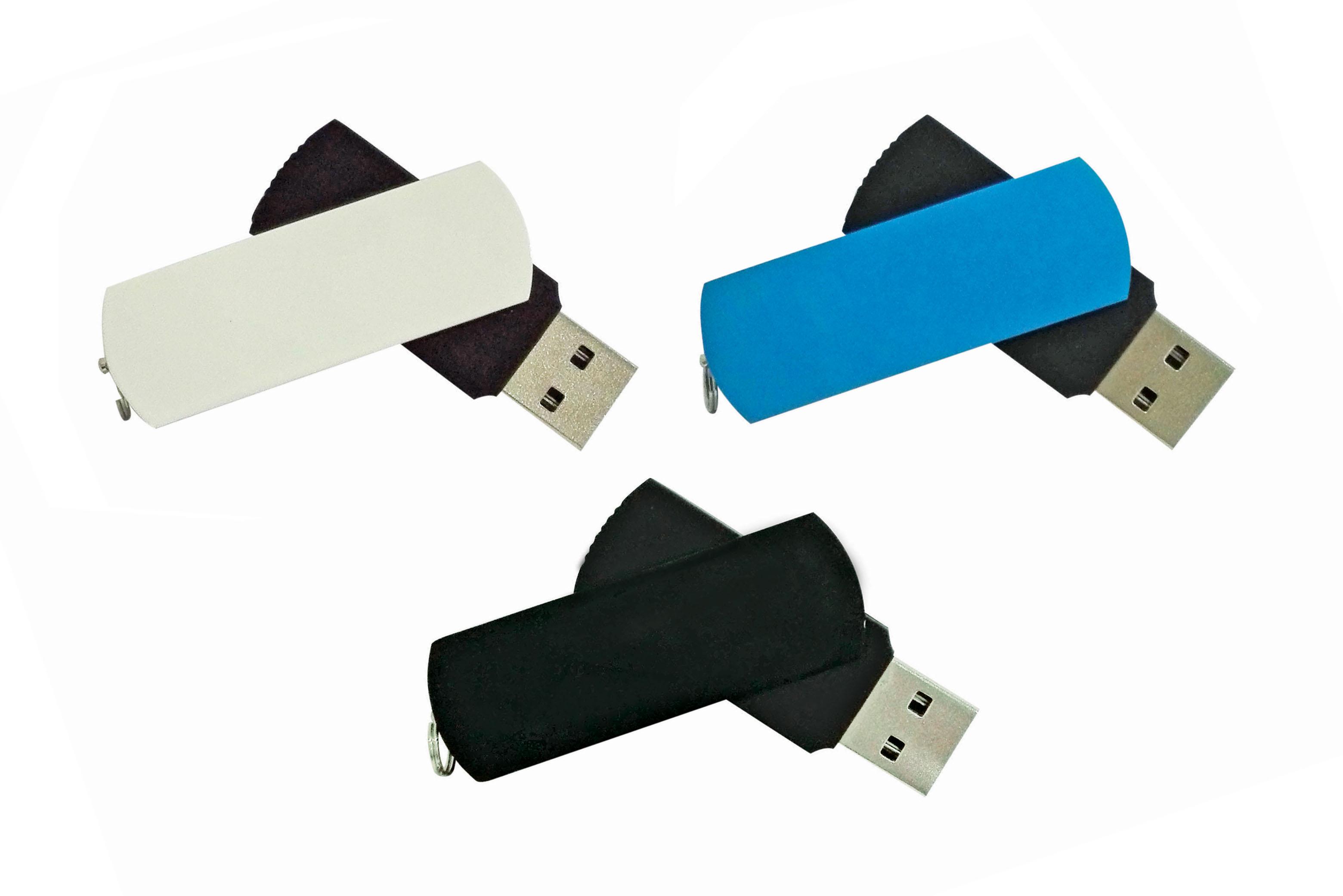 U17 Metal Swivel USB